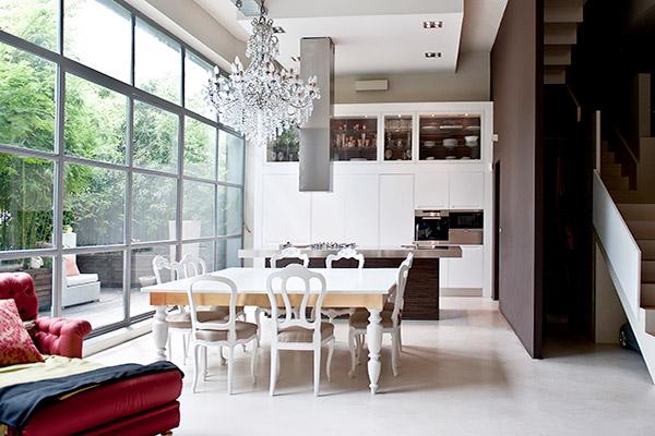Interior design di una casa unifamiliare a milano italy - Interior designer milano ...
